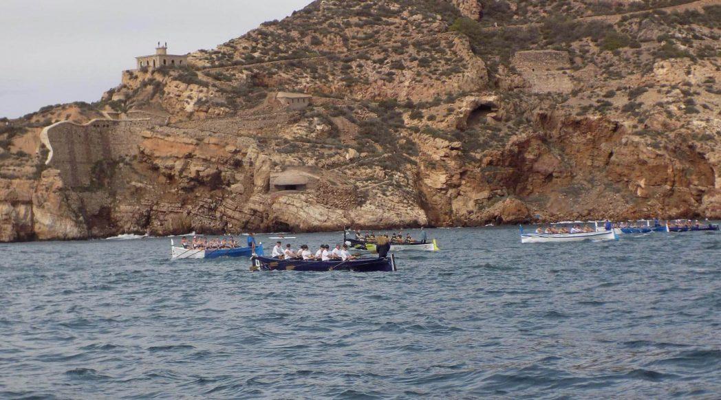 II Travesía a remo Santa Lucía - Isla de las Palomas - Santa Lucía
