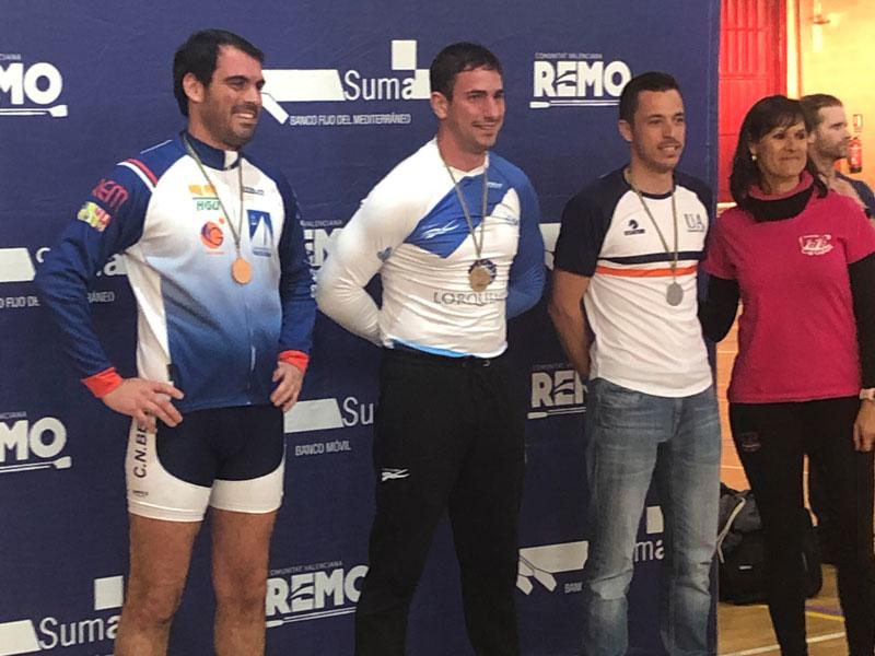 Oro de Daniel Tadeo en el Campeonato Autonómico Remoergómetro
