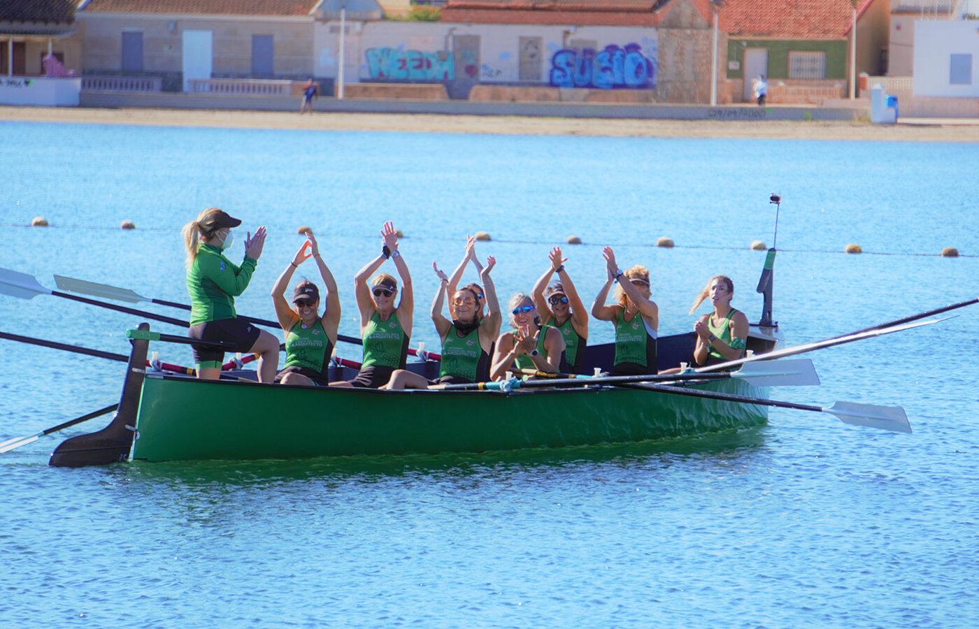 Equipo Veterano Femenino Campeonato de España Llaüt 2020